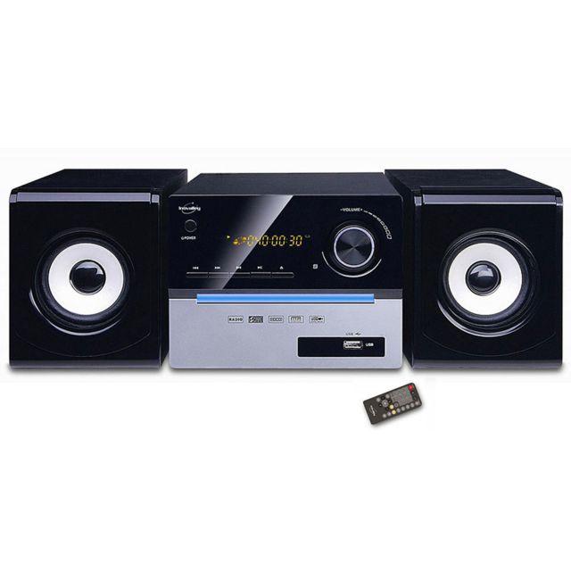 INOVALLEY CH11 CD BTH Chaîne stéréo bluetooth 2 X 25 W avec lecteur CD ainsi que des ports SD et USB.