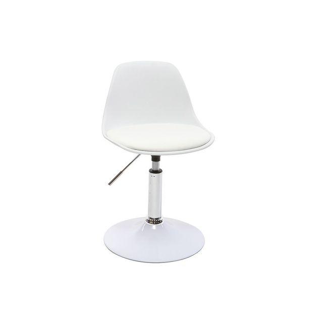 chaise bureau design pas cher miliboo chaise de bureau design enfant blanche steevy