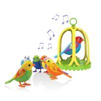 Silverlit - Digibirds Oiseau Qui Chante + Cage Modèle Aléatoire