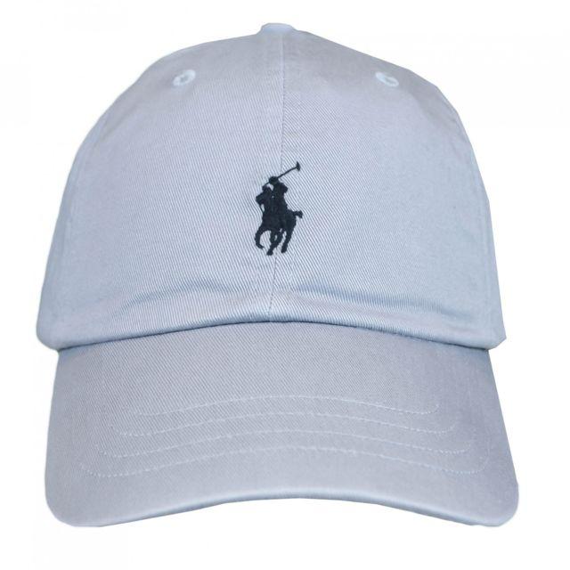 418a1f67cae2 Ralph Lauren - Casquette grise logo noir pour homme Taille unique - pas  cher Achat   Vente Casquettes, bonnets, chapeaux - RueDuCommerce