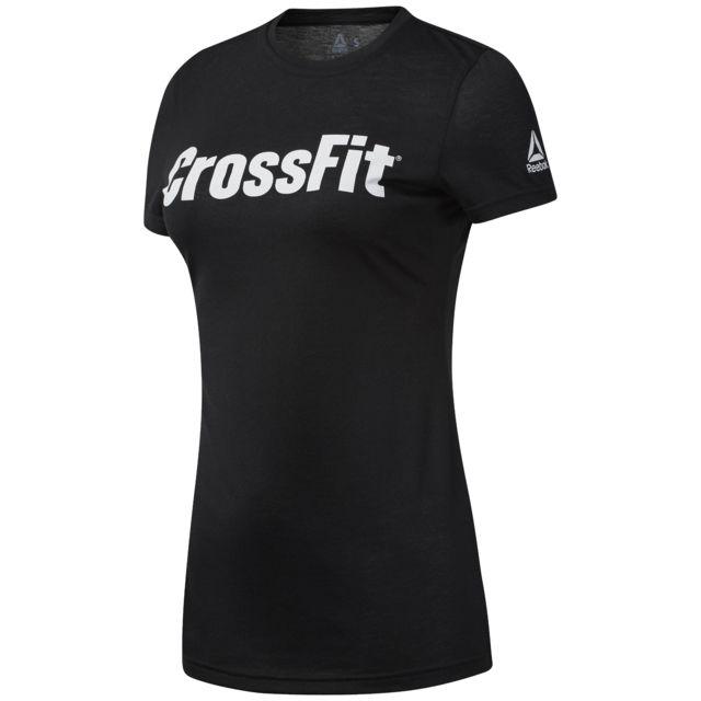 db456920b9506 Reebok - T-shirt femme Crossfit F.E.F - pas cher Achat / Vente Tee-shirts,  débardeurs - RueDuCommerce