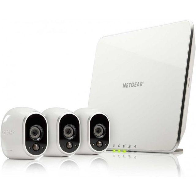 Dokphone Pack 3 Caméra de Surveillance Etanche sans Fil Connecté pas ... 31c9dab07846