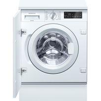 SIEMENS - lave-linge intégrable 60cm 8kg 1400t a+++ blanc - wi14w540ff