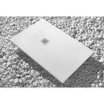 Sanycces - Receveur douche à poser Luxtone blanc – 70x160 cm – Strato