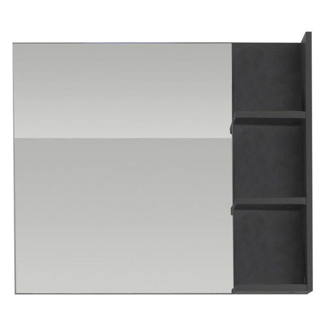 Comforium Miroir avec tablette pour salle de bain avec éclairages