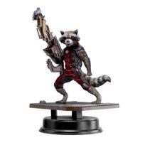 Dragon Models - Les Gardiens de la Galaxie - Statuette Pvc Action Hero Vignette 1/9 Rocket Raccoon Red Suit Ver. 18 cm