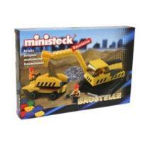 MINISTECK - Pelleteuse + Benne Baustelle briques