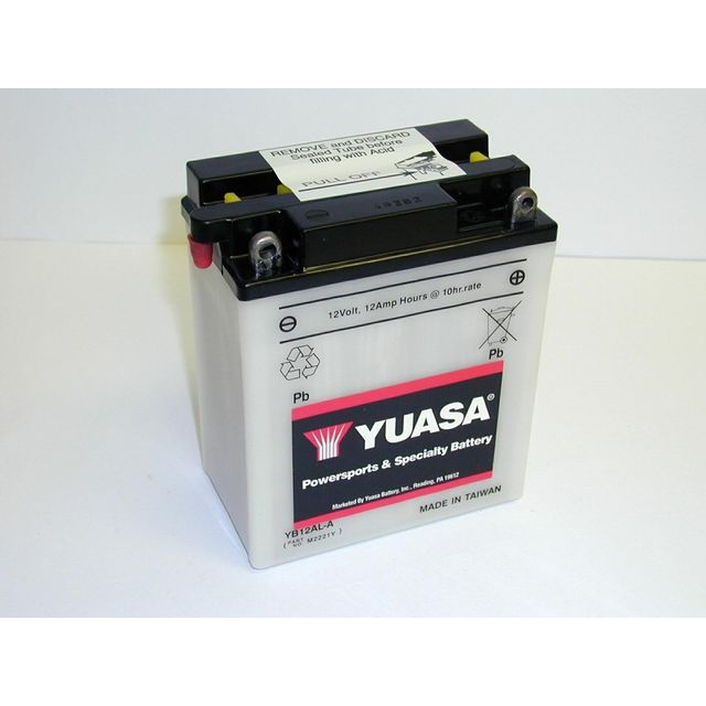 yuasa batterie moto yb12al a pas cher achat vente batteries rueducommerce. Black Bedroom Furniture Sets. Home Design Ideas