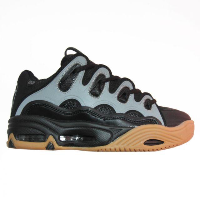 Osiris Baskets Homme Skateboard Shoes D3 2001 Dave Mayhew Black Gum