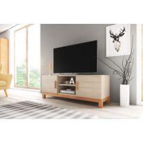 Vivaldi - Meuble Tv Design Norge coloris chêne sonoma