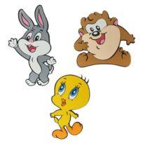 Gialamas - Baby Looney Tunes Wanddeko 3ER Set MOOSGUMMI