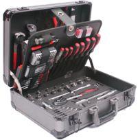 BATI AVENUE - Mallette de dépannage en aluminium 198 Pièces 119 outils 15155