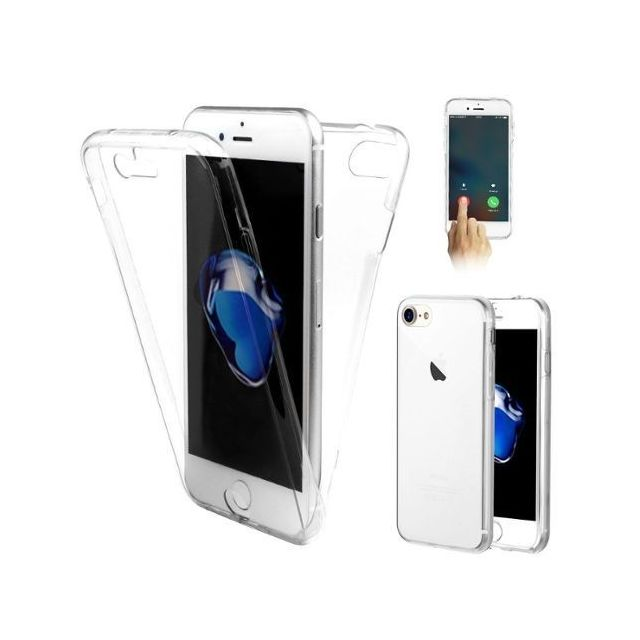 coque iphone 8 integrale transparente