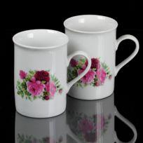 Maison Futée - Tasses céramique motif roses