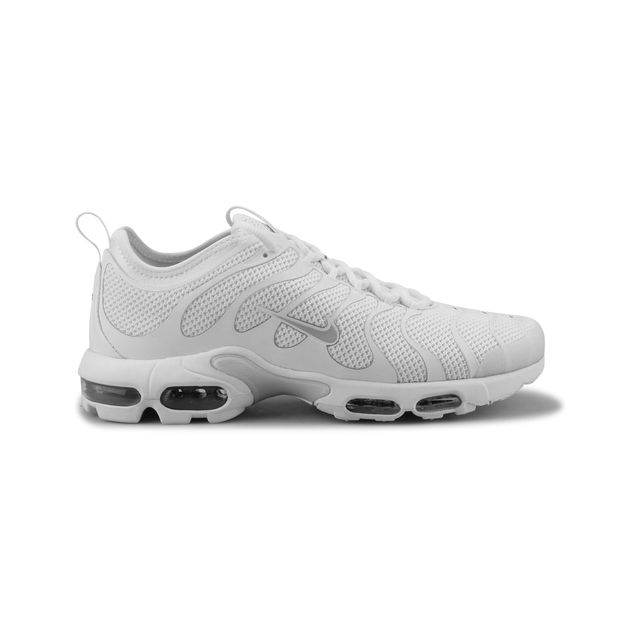 best loved b850e 741d6 Nike - Air Max Plus Tn Ultra Blanc 898015-102 - pas cher Achat   Vente Baskets  homme - RueDuCommerce