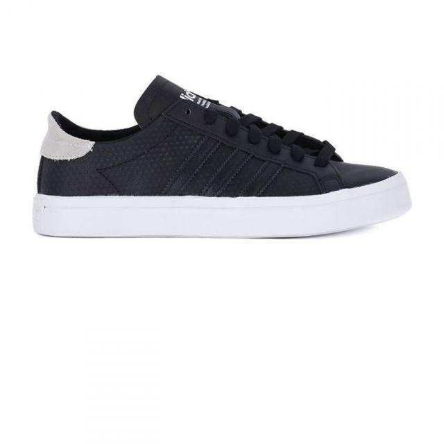 Adidas originals Chaussures Court Vantage Noir pas cher