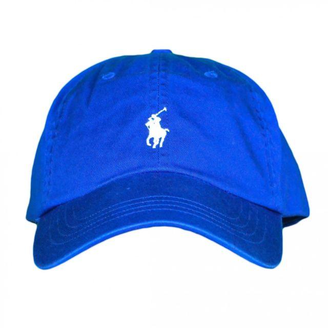 nouvelle arrivee d1111 51e90 Casquette bleu roi logo bleu ciel mixte