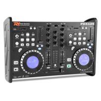 Power Dynamics - Pdx125 table de mixage controleur 2 canaux lecteur Cd Dual-DJ Usb Sd Mp3