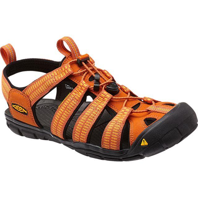 fd6d7c3c862 Keen - Clearwater Cnx - Sandales Homme - orange - pas cher Achat ...