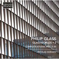 - Philip Glass - Glassworlds Vol. 2, Etudes no. 1 à 20 Boitier cristal