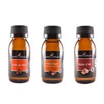 Tous - Lot 3 Huile Pure Ricin/Argan/Ail 60 Ml