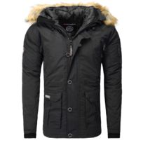 Geographical Norway - Parka hiver Parka Booster noir