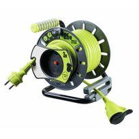 Luceco - Enrouleur électrique de jardin - Pro Xt - 25 m - disjoncteur thermique