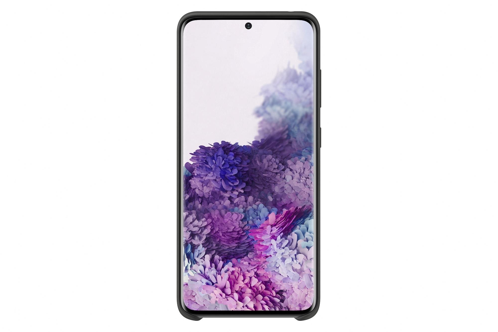 Coque Silicone pour Galaxy S20 Noir SAMSUNG