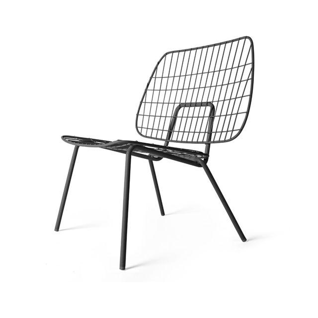 Menu Wm String Lounge Chair - noir