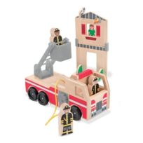 Melissa & Doug - 14525 - VÉHICULE Miniature - ModÈLE Simple - Ensemble De Sauvetage Et De Pompiers