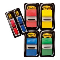 Post-it - Pack marques-pages larges - 4 x 50 marques larges + 2 x 24 marques flèches