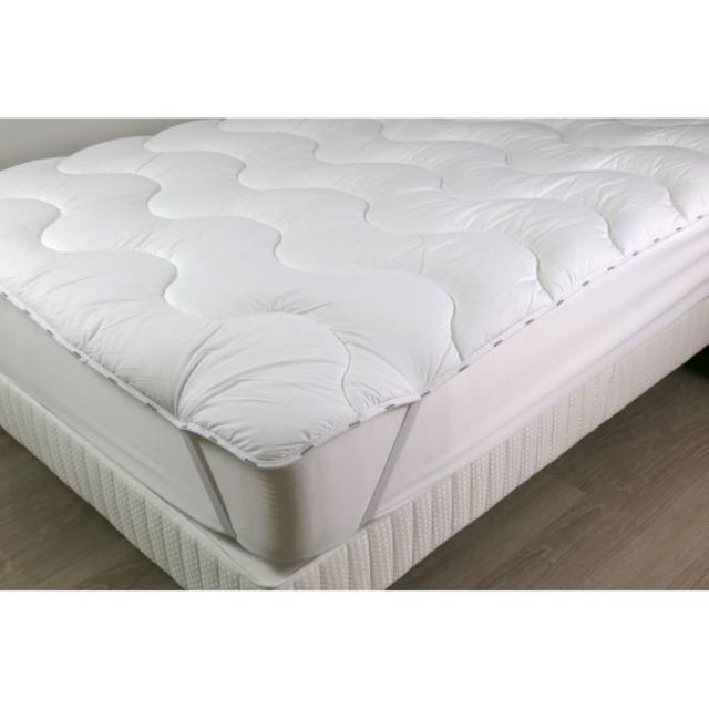 Icaverne SUR-MATELAS Surmatelas 140 x 190 - Polyester Confortlof - CONFORTLOFT
