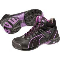Puma Baskets de sécurité montantes femme Stepper S3 Hro