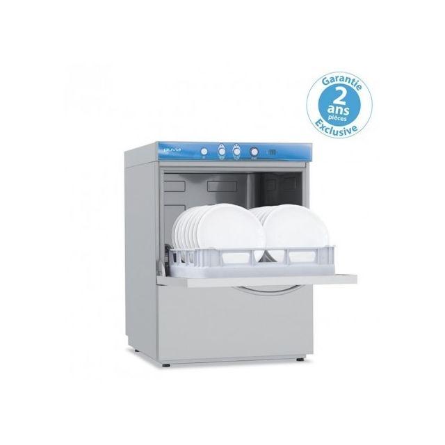 Materiel Chr Pro Lave-vaisselle digital avec adoucisseur - 7,9 kW - panier 500 x 500 mm - Elettrobar - 400V triphase