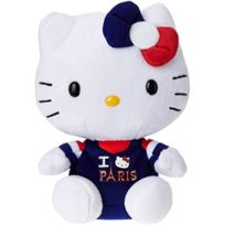 Ty - Ty46244 - Peluche - Hello Kitty I Love Paris - Beanie Babies - 15 Cm