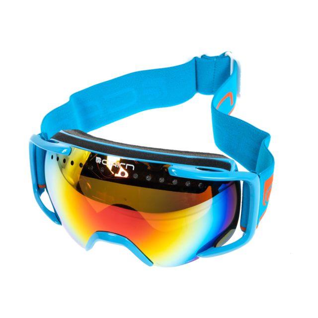 54b0e808cc Cairn - Masque de ski double écran Next trq 10/14a c3 spheri Bleu 53146