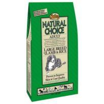 Nutro Natural Choice - Croquettes à l'Agneau et Riz pour Grand Chien - 12+3Kg Gratuits
