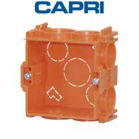 Capri - Boîte d'appareillage carrée à sceller box Prof40