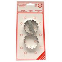 LARES - set 2 emporte pièces gaufrés - 1046