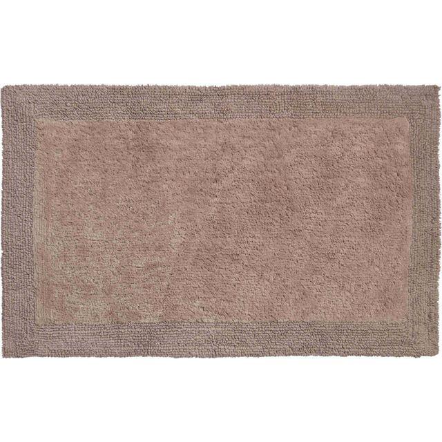 Tapis De Salle De Bain Beige : Esh equipement tapis de salle bain luxor beige