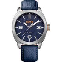 Hugo Boss Orange - Montre Boss Orange Cape Town 1513410 - Montre Bleue Cuir Homme