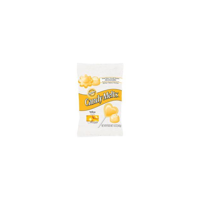 Wilton Pastilles d'enrobage Candy Melts jaunes