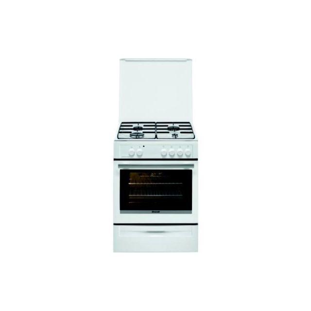 hotpoint - cuisinière gaz / four catalyse h6t9ce1f-x-fr achat