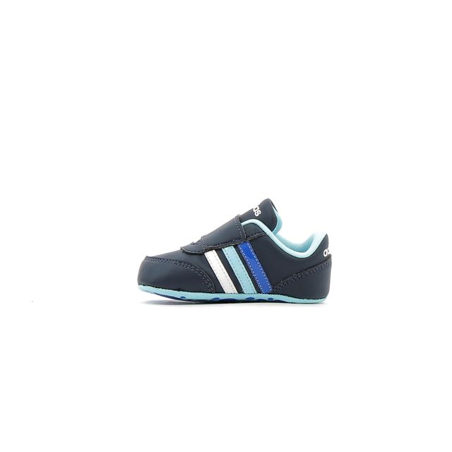 Adidas performance - Baskets bébé V Jog Crib Bleu - 17 - pas cher Achat    Vente Chaussures, chaussons - RueDuCommerce 163e74d43cfc