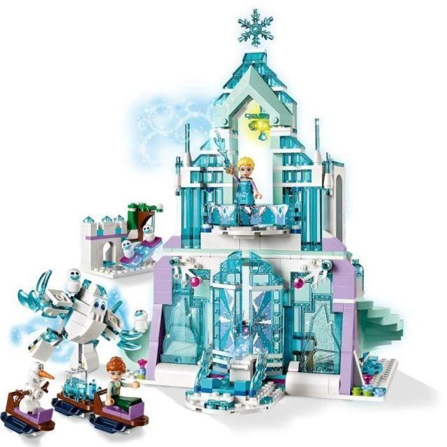 JEU D'ASSEMBLAGE - JEU DE CONSTRUCTION - JEU DE MANIPULATION Disney La Reine des neiges 43172 Le palais des glaces magiq