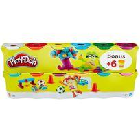 PLAY-DOH - Pâte à modeler 6+6 pots gratuits - B6751EU40