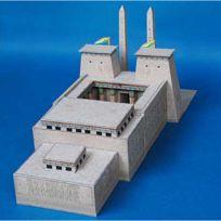 Aue Verlag - Maquette en carton : Temple égyptien