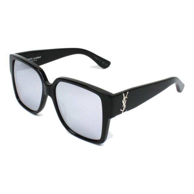 Yves Saint Laurent - Lunettes de soleil Yves Saint Laurent Slm-9 001 Mixte  Noir b218bbb0a94d
