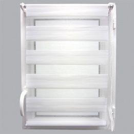 marque generique store enrouleur 90 x h250 cm jour nuit blanc pas cher achat vente. Black Bedroom Furniture Sets. Home Design Ideas