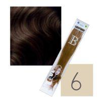 Balmain Hair - Extensions Kératine Balmain Paquet de 10 Blond Foncé N°6 45 Cm